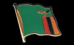 Flaggen-Pin Sambia - 2 x 2 cm