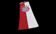 Hissflagge FC Bayern München Logo XL - 150 x 400 cm