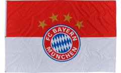 Hissflagge FC Bayern München Logo - 120 x 180 cm