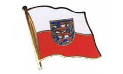 Flaggen-Pin Deutschland Thüringen - 2 x 2 cm