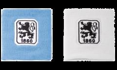 Schweißband 2 er Set TSV 1860 München - 8 x 9cm