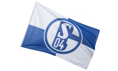 Hissflagge FC Schalke 04 Karo - 100 x 150 cm
