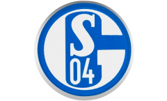 Pin FC Schalke 04 Signet - 1.5 x 1.5 cm