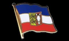 Flaggen-Pin Deutschland Schleswig-Holstein - 2 x 2 cm