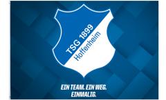 Hissflagge TSG 1899 Hoffenheim  - 100 x 150 cm