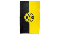 Hissflagge Borussia Dortmund Logo Streifen - 100 x 200 cm