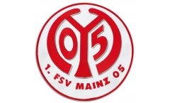 Aufnäher 1. FSV Mainz 05 Logo - 20 cm