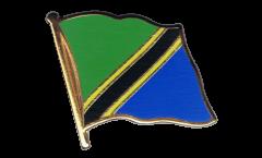 Flaggen-Pin Tansania - 2 x 2 cm