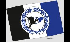 Stockflagge Arminia Bielefeld Wappen - 40 x 60 cm