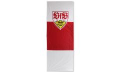 Hissflagge VfB Stuttgart Wappen - 150 x 400 cm