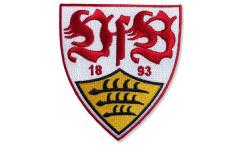 Aufnäher VfB Stuttgart Wappen - 8 x 8 cm