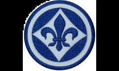 Aufnäher SV Darmstadt 98 Logo - 8 x 8 cm