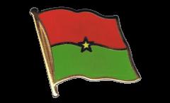 Flaggen-Pin Burkina Faso - 2 x 2 cm