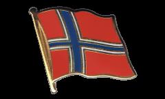 Flaggen-Pin Norwegen - 2 x 2 cm