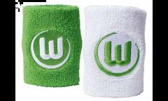 Schweißband 2 er Set VfL Wolfsburg - 8 x 9cm