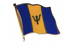 Flaggen-Pin Barbados - 2 x 2 cm