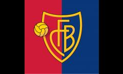 Hissflagge FC Basel - 150 x 150 cm