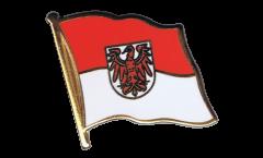 Flaggen-Pin Deutschland Brandenburg - 2 x 2 cm