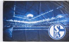 Zimmerflagge FC Schalke 04  - 90 x 140 cm