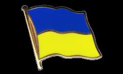 Flaggen-Pin Ukraine - 2 x 2 cm