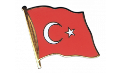 Flaggen-Pin Türkei - 2 x 2 cm