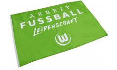 Hissflagge VfL Wolfsburg - 120 x 180 cm