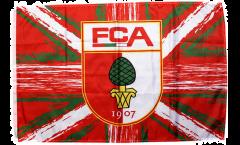 Flagge FC Augsburg - 60 x 90 cm