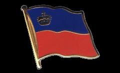Flaggen-Pin Liechtenstein - 2 x 2 cm