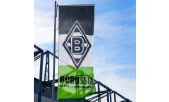 Hissflagge Borussia Mönchengladbach Balken - 400 x 150 cm
