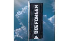 Hissflagge Borussia Mönchengladbach Die Fohlen - 400 x 150 cm