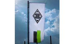 Hissflagge Borussia Mönchengladbach Streifen - 400 x 150 cm
