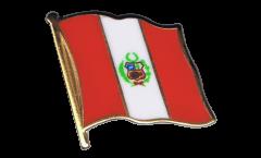 Flaggen-Pin Peru - 2 x 2 cm