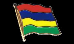 Flaggen-Pin Mauritius - 2 x 2 cm