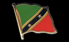 Flaggen-Pin St. Kitts und Nevis - 2 x 2 cm