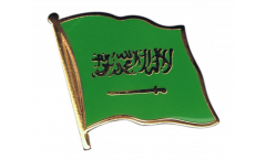 Flaggen-Pin Saudi-Arabien - 2 x 2 cm