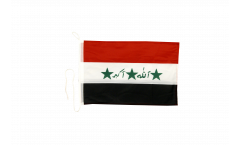 Bootsfahne Irak alt 1991-2004 - 30 x 40 cm