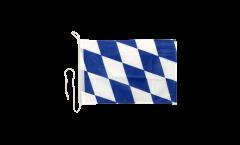 Bootsfahne Deutschland Bayern ohne Wappen - 30 x 40 cm