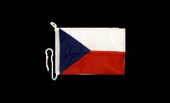 Bootsfahne Tschechische Republik - 30 x 40 cm