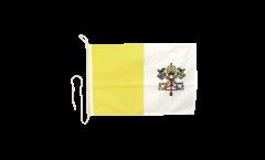 Bootsfahne Vatikan - 30 x 40 cm