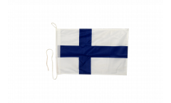 Bootsfahne Finnland - 30 x 40 cm