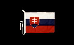Bootsfahne Slowakei - 30 x 40 cm