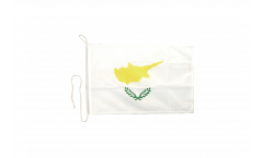 Bootsfahne Zypern - 30 x 40 cm