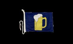 Bootsfahne Bier - 30 x 40 cm