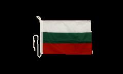 Bootsfahne Bulgarien - 30 x 40 cm