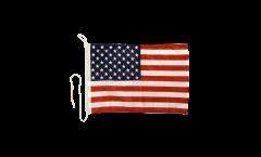 Bootsfahne USA - 30 x 40 cm