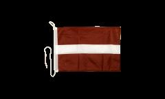 Bootsfahne Lettland - 30 x 40 cm