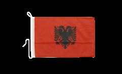 Bootsfahne Albanien - 30 x 40 cm