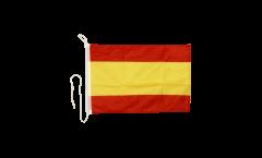 Bootsfahne Spanien ohne Wappen - 30 x 40 cm