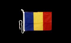 Bootsfahne Rumänien - 30 x 40 cm