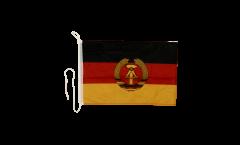 Bootsfahne Deutschland DDR - 30 x 40 cm